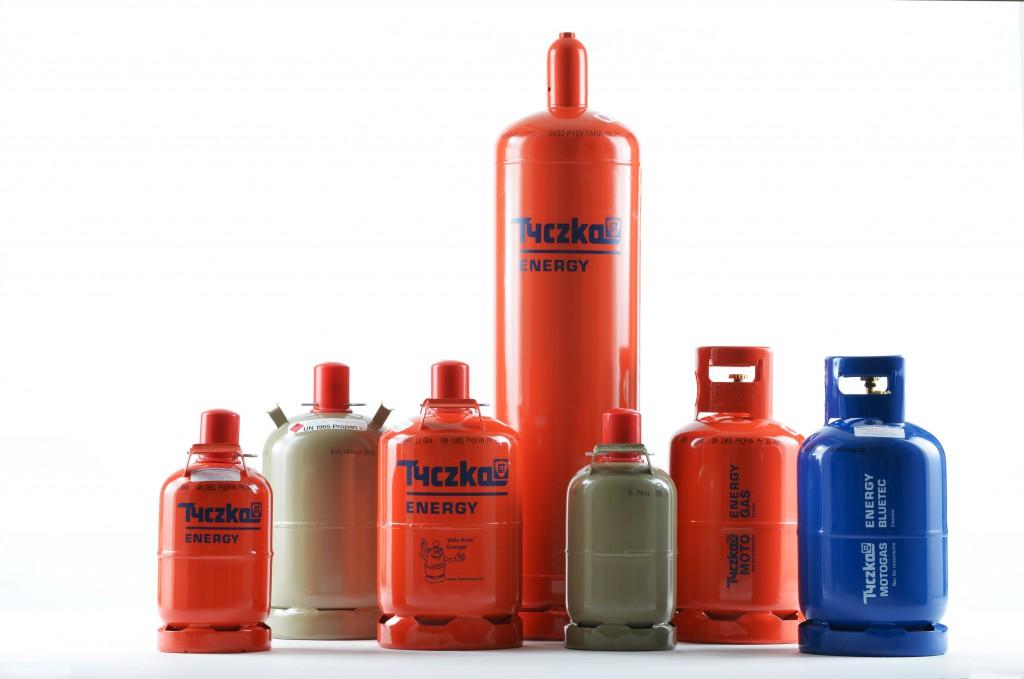 Gasflaschen Tyczka Energy
